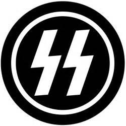 German Nazi SS Symbol