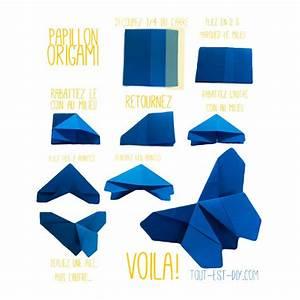 Origami Animaux Facile Gratuit : tuto origami papillon tout est diy activit s enfants ~ Dode.kayakingforconservation.com Idées de Décoration