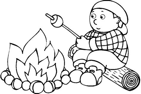 camping coloring pages getcoloringpages 895 | g7uzbqh