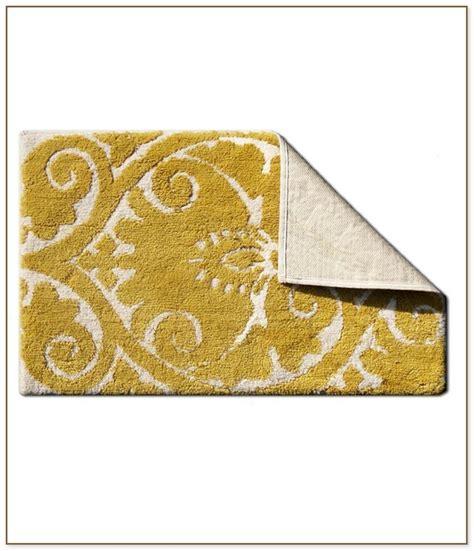 yellow bathroom rugs bathroom rug set 1207