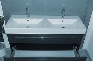 Waschtisch Mit Becken : waschtisch mit 2 becken eckventil waschmaschine ~ Markanthonyermac.com Haus und Dekorationen