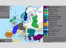 The History of Europe 5,000 Years Animated in a Timelapse