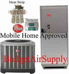 Rheem 3 Ton 14 Seer Heat Pump Split System Rp1436aj1