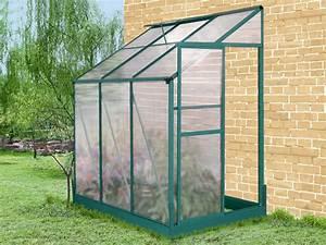 Serre En Polycarbonate Ou En Verre : mini serre de jardin ou balcon polycarbonate capucine 0 8m2 ~ Premium-room.com Idées de Décoration