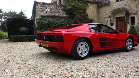 Ferrari Testarossa drive and review - YouTube