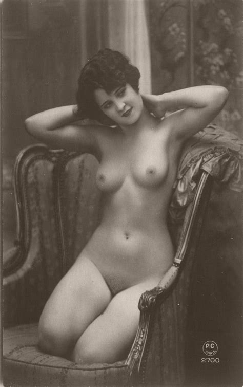 Vintage Early Th Century Bw Nudes Monovisions
