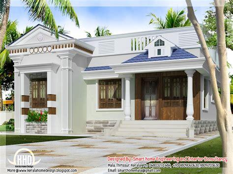 Kerala Home Design One Floor Plan by One Story Bungalow Floor Plans Kerala Style Single Storey