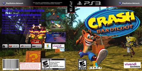 crash bandicoot fan game crash bandicoot ps3 boxart fanmade by darksoul38118 on