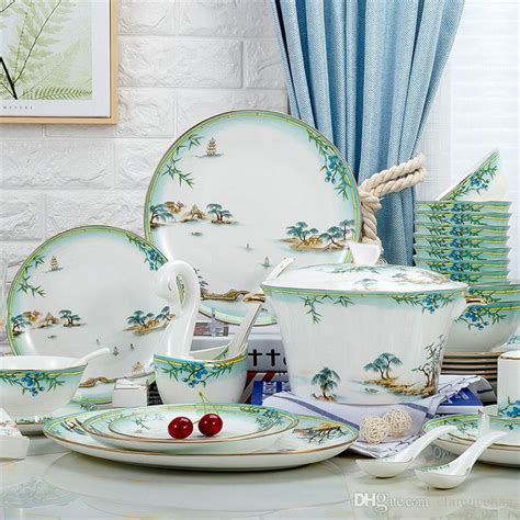 china sets for 8 kitchen tableware dinnerware sets dishes sets plates 5397