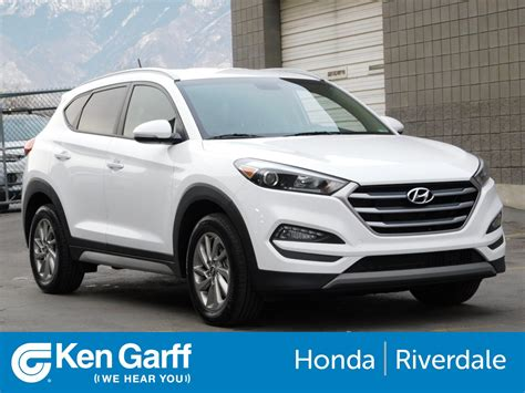 Certified Pre Owned Hyundai Tucson by Pre Owned 2017 Hyundai Tucson Eco Sport Utility 3hu86650