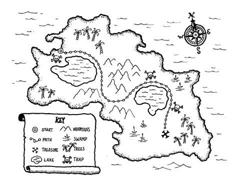 treasure map drawing  getdrawings