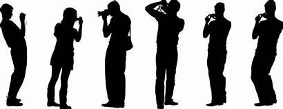Silhouette Singing Photographer Transparent Clipart Hand Clip