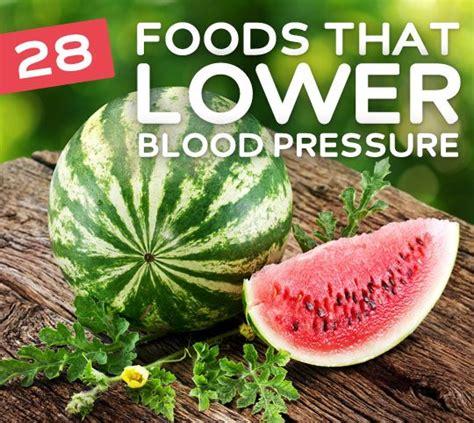 foods    blood pressure  normal levels