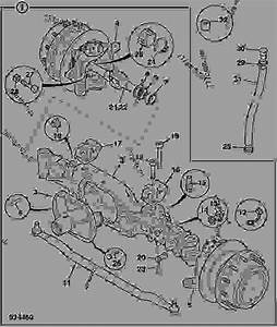 Axle Assembly   Front Sd90 Abs