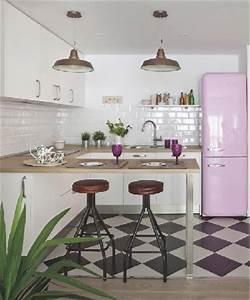 cuisine vintage blanche deco mobilier retro With deco cuisine pour mobilier de cuisine