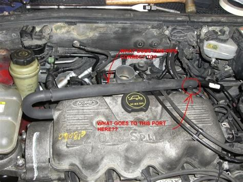 ford focus breather hose diagram   wiring forums