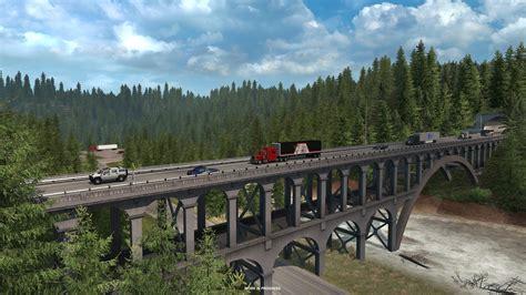 bridges  oregon ats american truck simulator mod ats mod