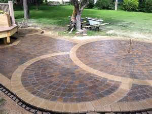 Image of: Brick Patio Design Fire Pit Hostyhi Brick Patio Designs For Your Garden