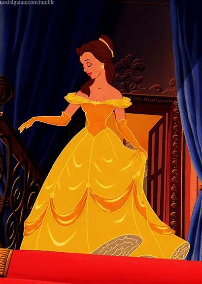 Belle Disney Beast Beauty Animation Gold Princess