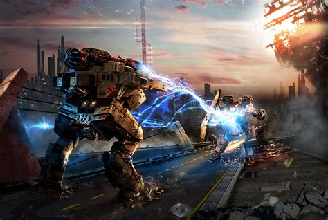 walking war robot wallpaper high quality extra wallpaper