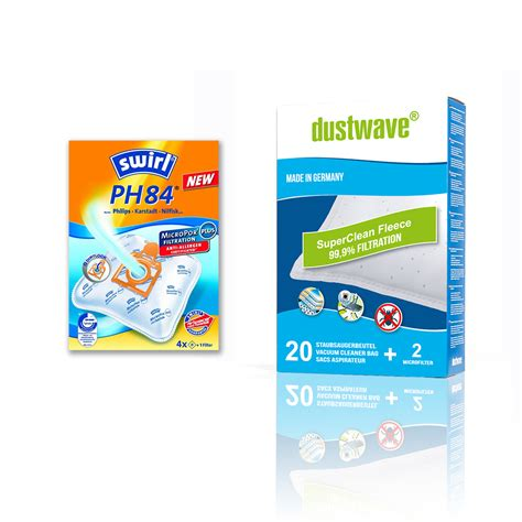 swirl ph 84 swirl ph84 oder 2 40 dustwave d76 vlies staubbeutel ebay