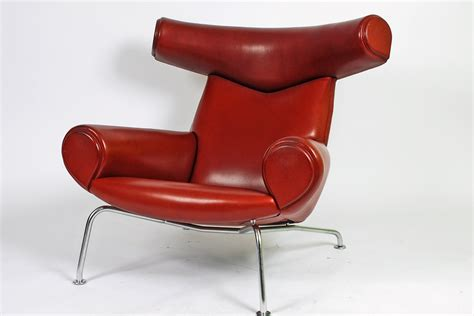 ox chair and ottoman by hans wegner for sale at 1stdibs