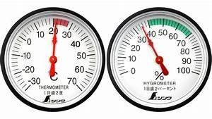 Thermometer  Hygrometer