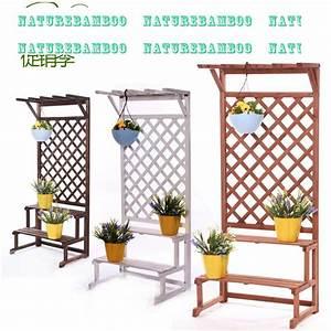 Fleur En Bois : bac a fleurs avec treillis pas cher ~ Dallasstarsshop.com Idées de Décoration