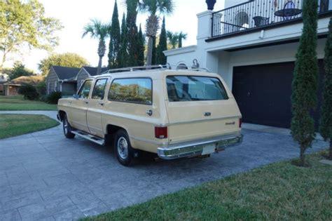 1977 Chevrolet Suburban Silverado, One Family Owned, 40k