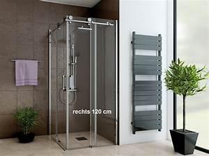 Glasplatte 120 X 80 : dusche eckeinstieg schiebet r 120 x 80 cm 220 cm hoch 2 teilig ~ Indierocktalk.com Haus und Dekorationen
