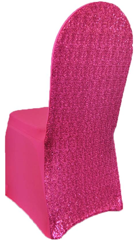 fuchsia sequin spandex chair covers wholesale