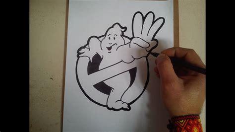 como dibujar el logo de los cazafantasmas    draw