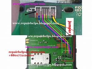 Repair Helps  Nokia 1280 Lcd Display Line Ways