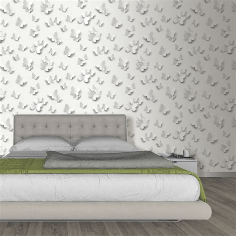 Muriva Just Like It Butterfly 3d Butterflies Pattern Motif