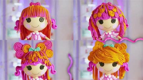 Lalaloopsy Hair-dough Tv Commercial, 'disney Channel