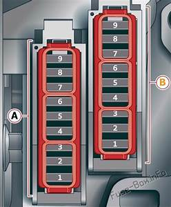 Fuse Box Diagram Audi A6    S6  C8  4k  2018