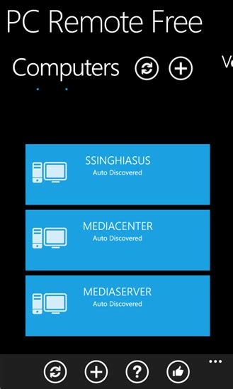 pc remote xap windows phone app free windows phone apps