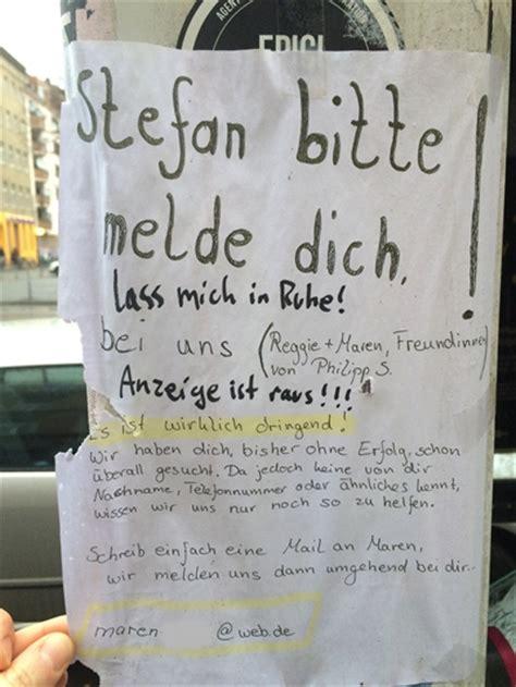 anzeige ist raus notes  berlin