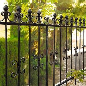 Gartenzaun Aus Metall : schmiedeeisen zaun sonstige preisvergleiche erfahrungsberichte und kauf bei nextag ~ Orissabook.com Haus und Dekorationen