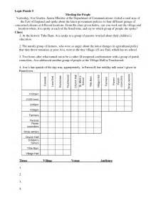 Free Math Worksheets Logic Puzzles