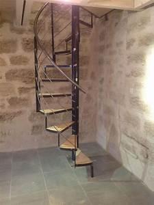 Escalier En Colimaçon : escalier colima on m tal pezenas dans l 39 herault ~ Mglfilm.com Idées de Décoration