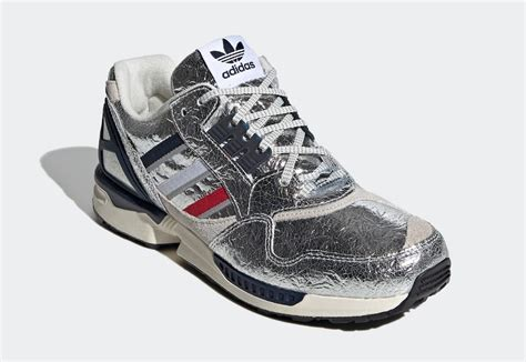 concepts adidas zx  silver metallic release date info