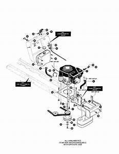 Kohler Engine Diagram  U0026 Parts List For Model 42566x89 Yard