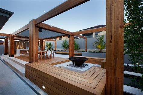 automated house lighting timber and composite timber decking design and construction