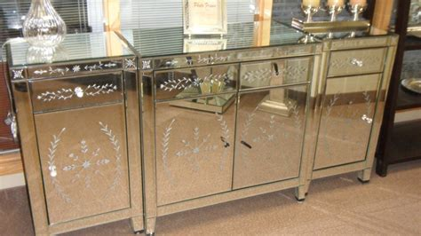 mirrored buffet tables venetian style mirrored sideboard for bedroom buy 4158