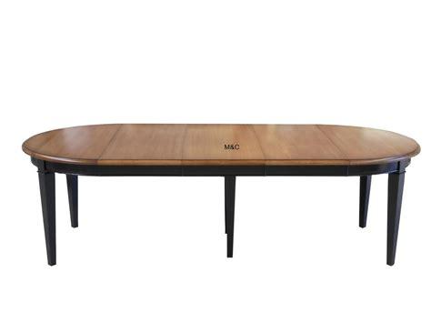 table cuisine rallonge table ronde directoire bois massif avec rallonges
