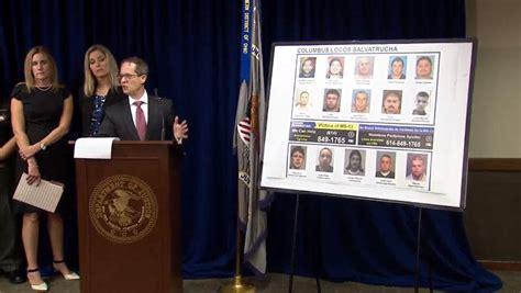 ms  gang sweep  ohio indiana nets  arrests cbs news
