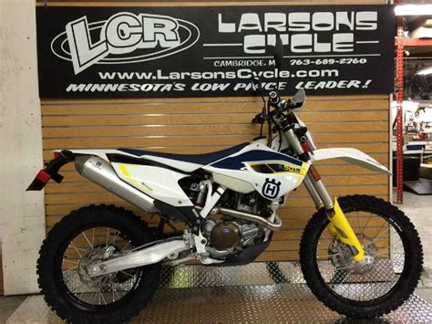 Husqvarna Fe 501 Picture by 2015 Husqvarna Fe 501 S Motorcycle From Cambridge Mn