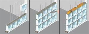 Mur En Brique De Verre Salle De Bain : poser des briques de verre mur ~ Dailycaller-alerts.com Idées de Décoration