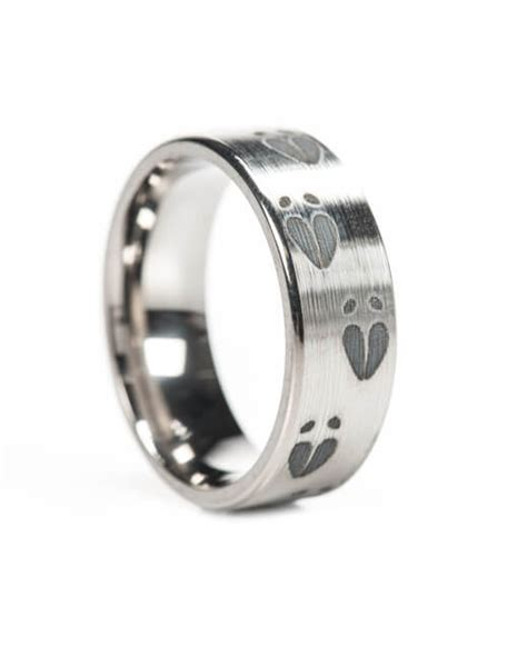 whitetail deer ring deer hunting jewelry white tailed band